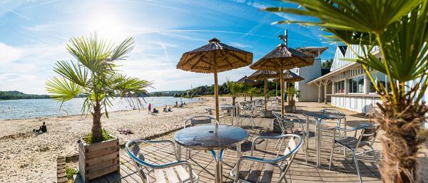 La plage au Lac d'Ailette