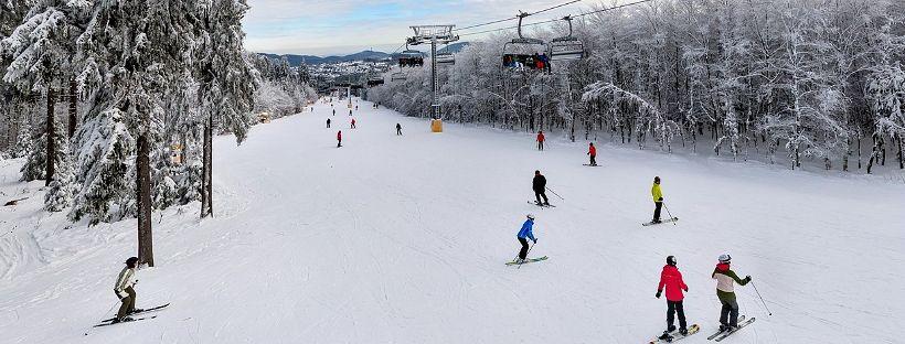 ski à Center Parcs