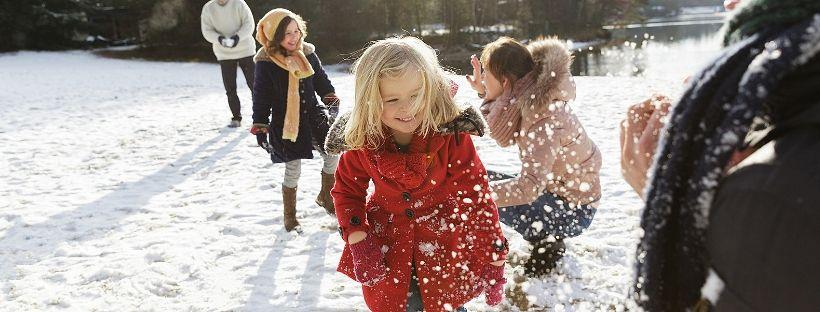 neige à Center Parcs