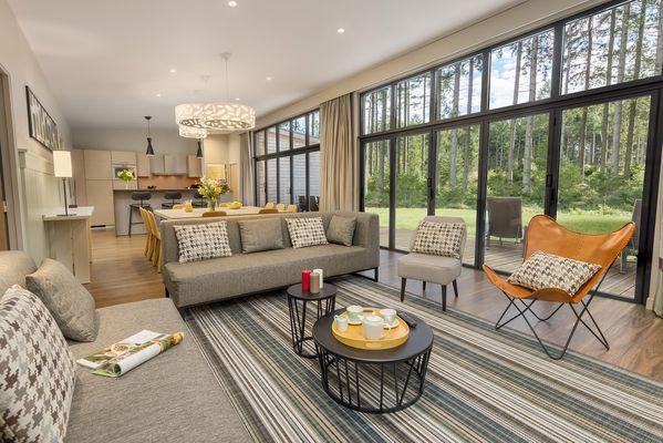 Big news pour le domaine Les Trois-Forêts, des cottages entièrement rénovés !