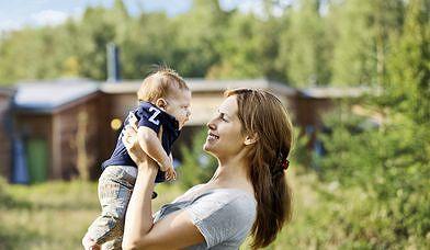 En vacances en France avec un bébé