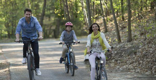 Les balades à vélo spécial Center Parcs