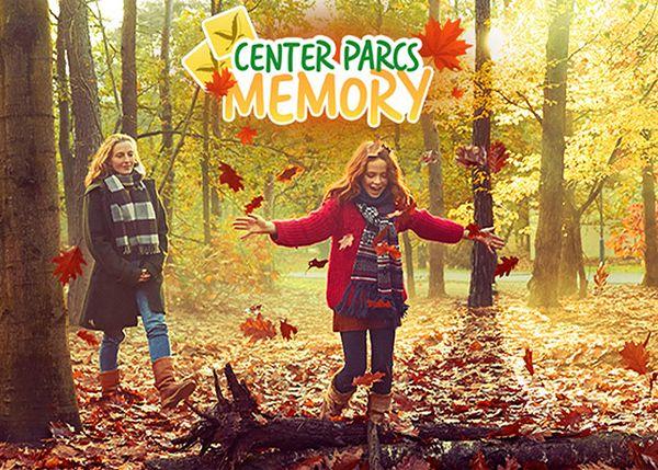 Jouez au jeu Center Parcs Memory et gagnez un séjour gratuit!