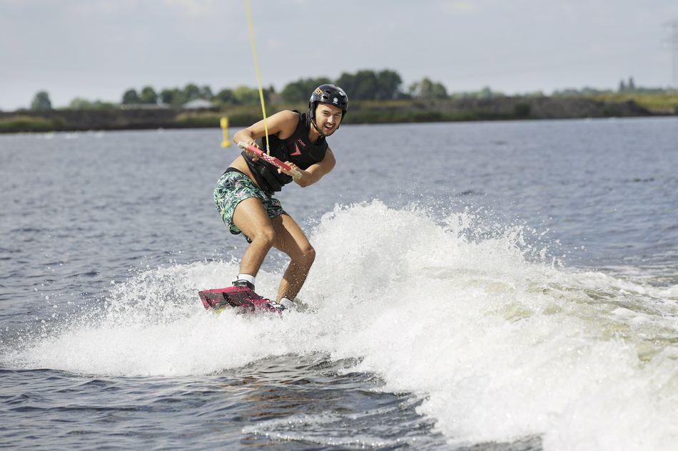 Wakeboard sur le lac