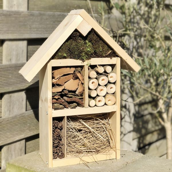 Atelier maison DIY – Fabriquer un hôtel à insectes