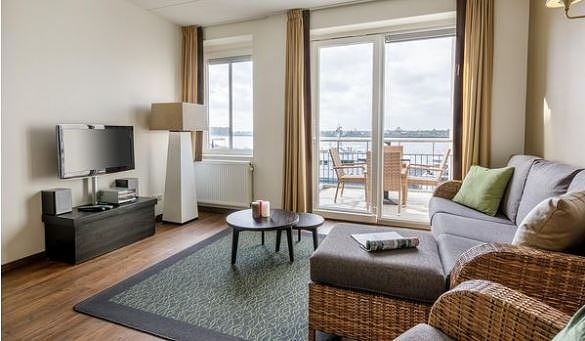 Suites Waterfront renovées à De Eemhof