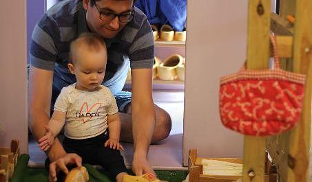 Des vacances tranquilles pour bébé : le Market Dome tropical