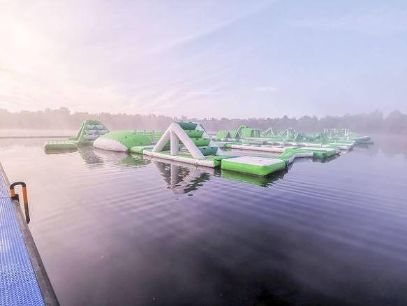 Nouveau parc aquatique à De Vossemeren