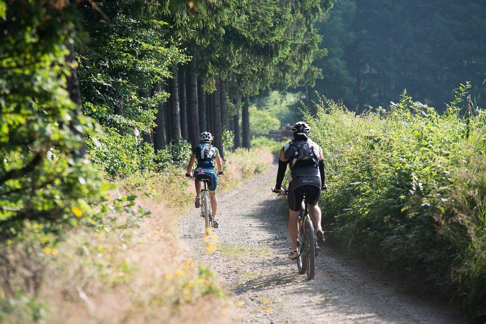 mountainbiking les ardennes