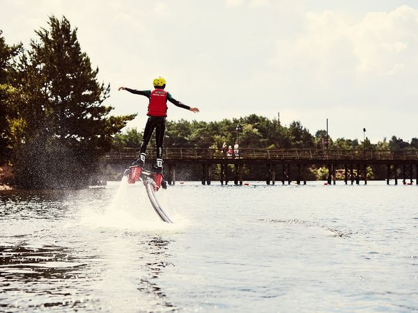 Flyboard over the lake