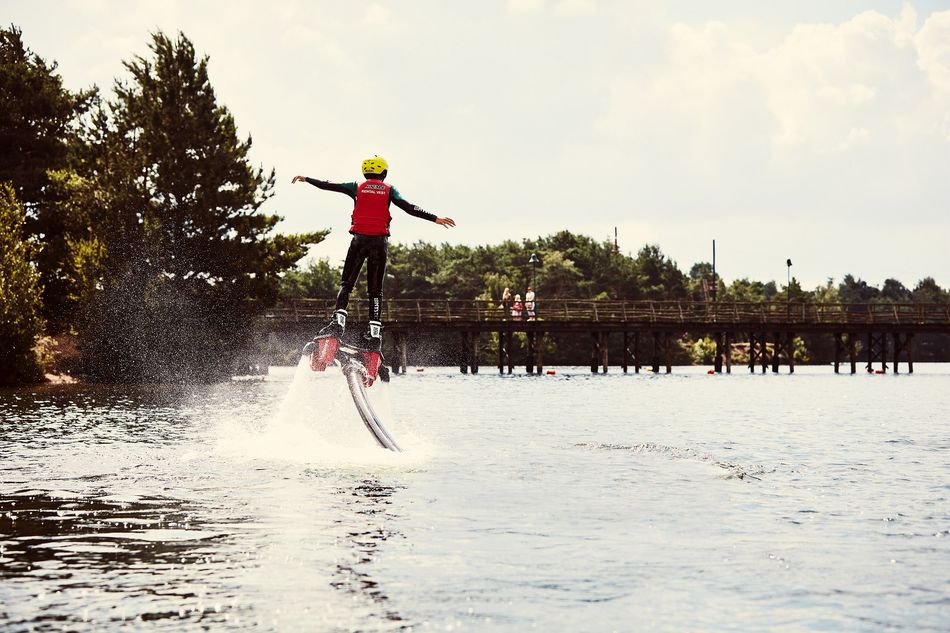 Flyboarden Center Parcs