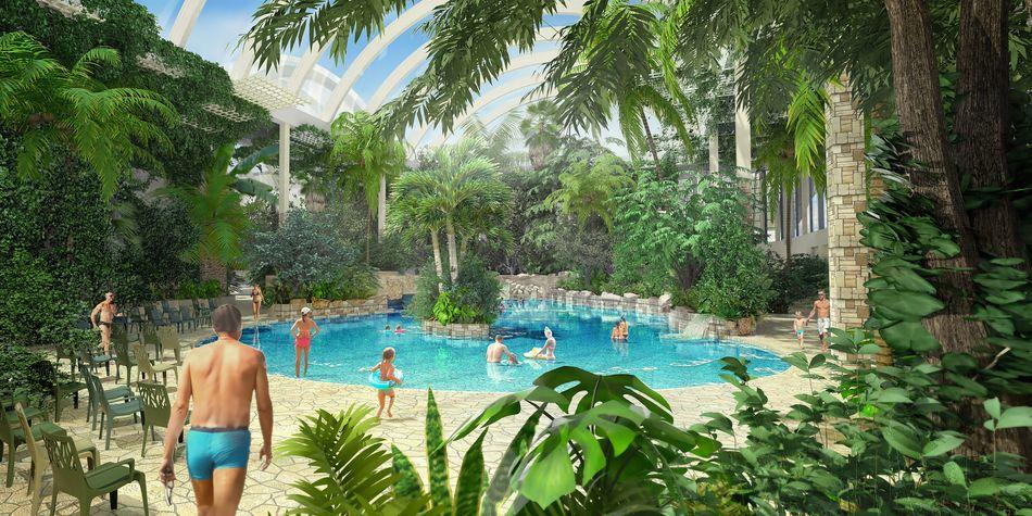 Center Parcs Zandvoort Zwembad.Het Wordt Spectaculair De Aqua Mundo In Park Allgau