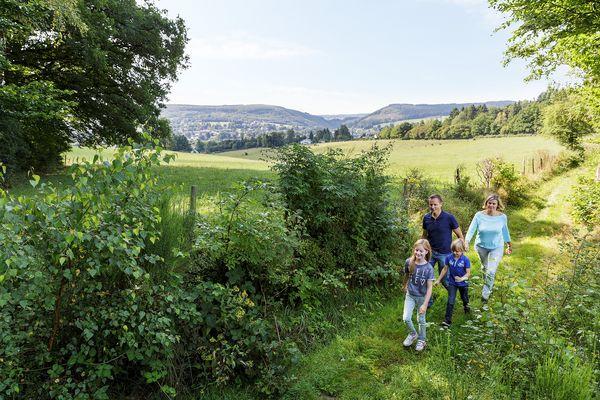 wandelen rondom Les Ardennes