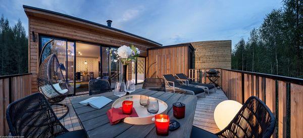 Ondergedompeld in luxe: Exclusive cottages in 360