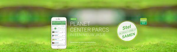 Vernieuwd: Planet Center Parcs