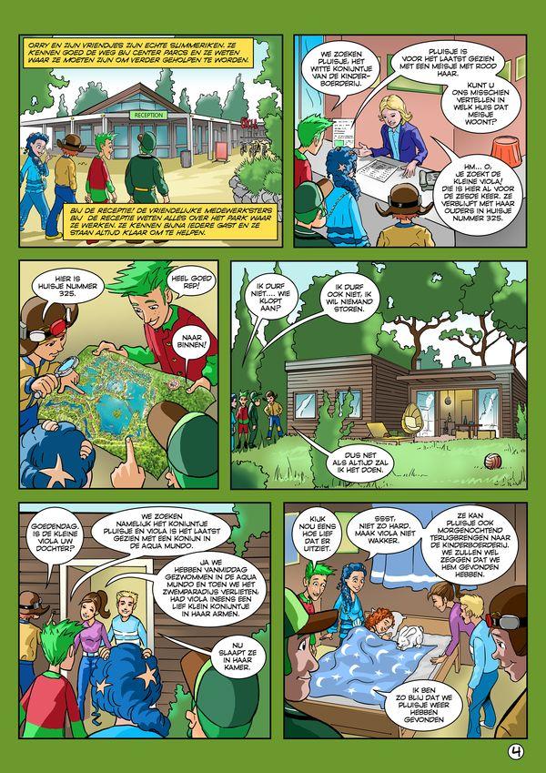 """Orry-Comic """"Waar is Pluisje?"""" - Deel 4"""