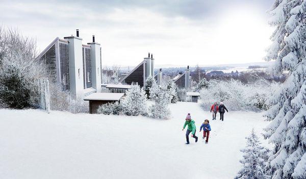 Kerst en nieuwjaar in de buurt van Winterberg