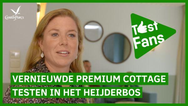 GETEST: de vernieuwde Premium Cottage in Het Heijderbos