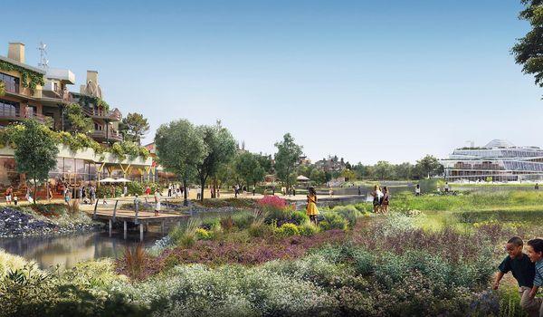 Ontdek de duurzame oase van Villages Nature Paris ®