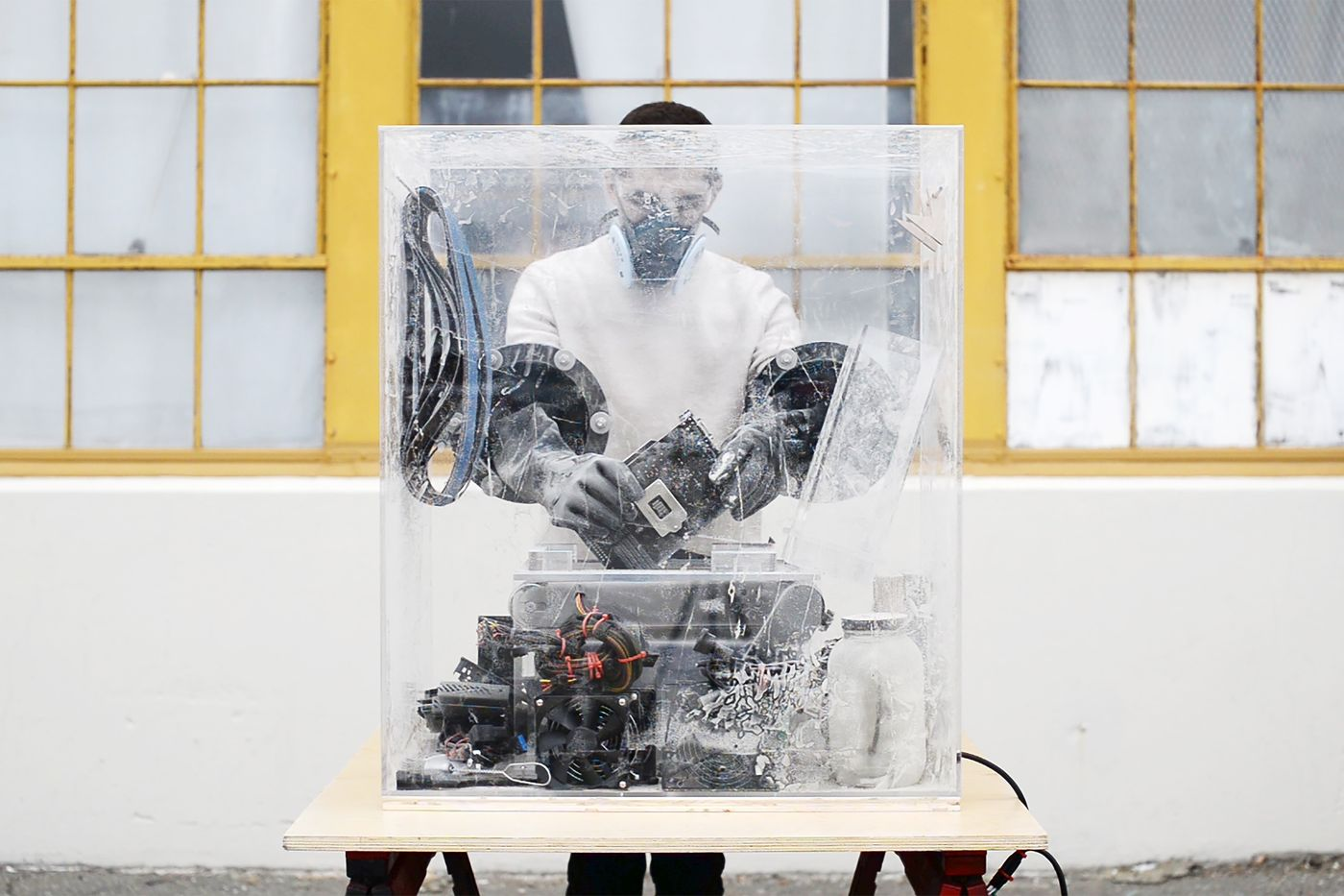 We spoke with artificial intelligence artist Ben Snell, whose sculpture 'Dio' is featured in our online-only auction, Unbound.