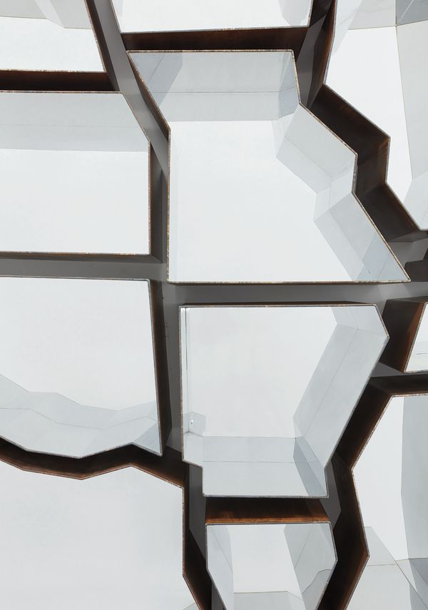 """Ron Arad """"Oh, the Farmer and the Cowman Should be Friends"""", 2009 (detail)"""