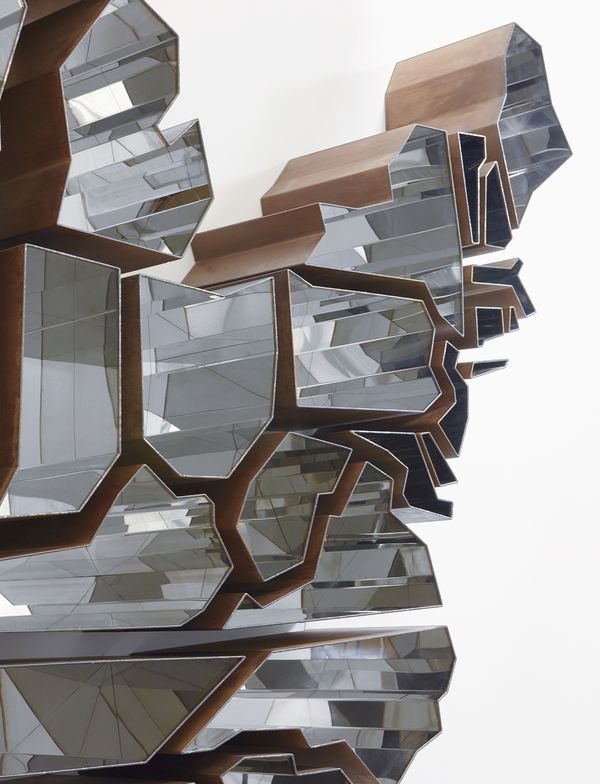 """Ron Arad """"Oh, the Farmer and the Cowman Should be Friends"""" (detail), 2009"""