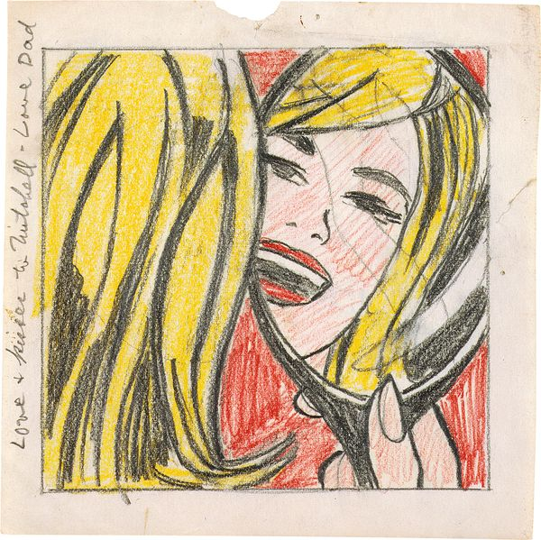Phillips Roy Lichtenstein Through The Looking Glass