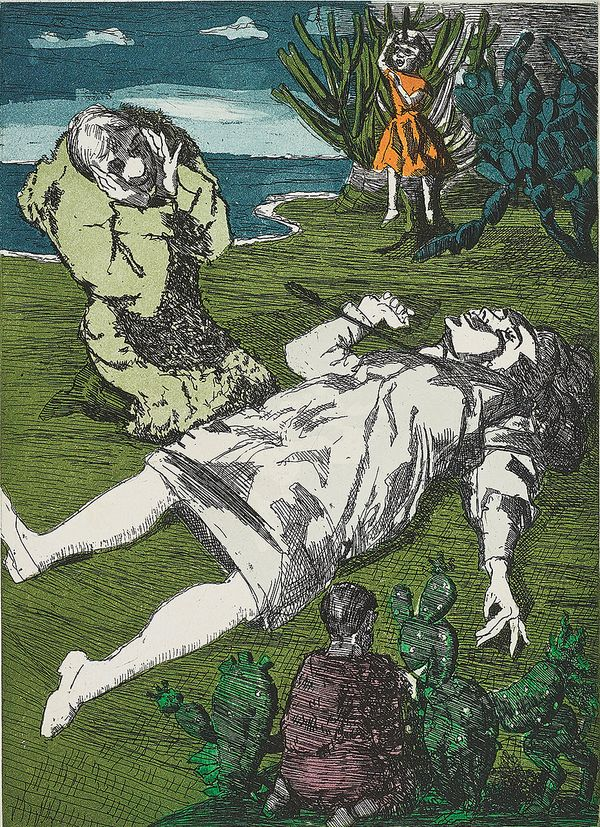 Artist Paula Rego combines vibrant humor and macabre chiaroscuro, creating clever reimaginations of poignant fairytales.
