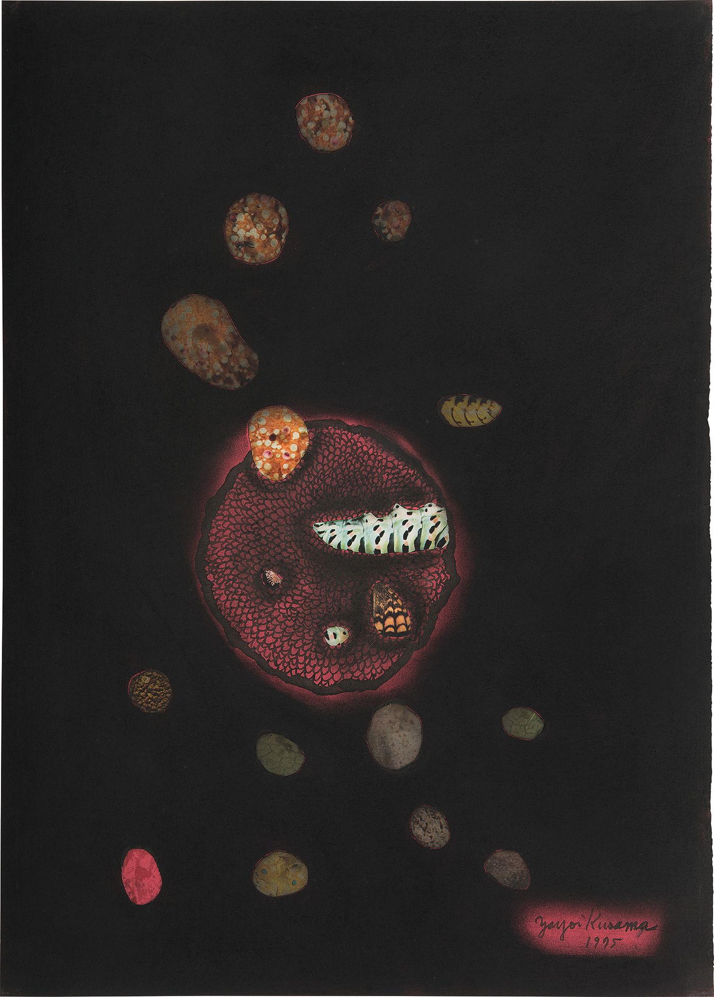 Two works from our Hong Kong Day Sale pay tribute to Kusama's passionate yet platonic relationship with her fellow artist.