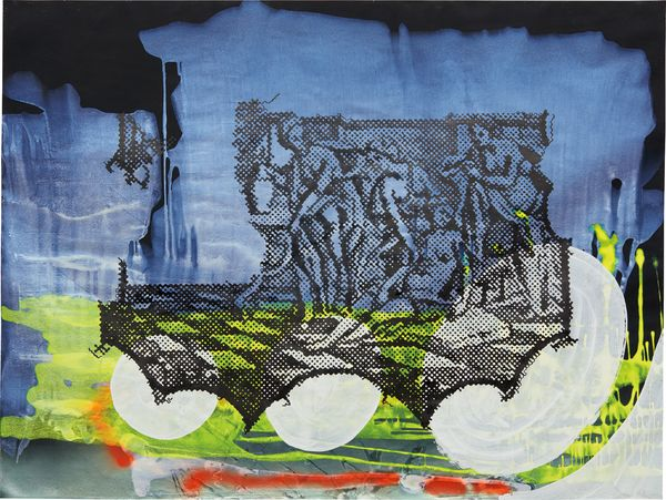 2000's 'Untitled' exemplifies the wide range of styles that Sigmar Polke appropriated and developed throughout his career.