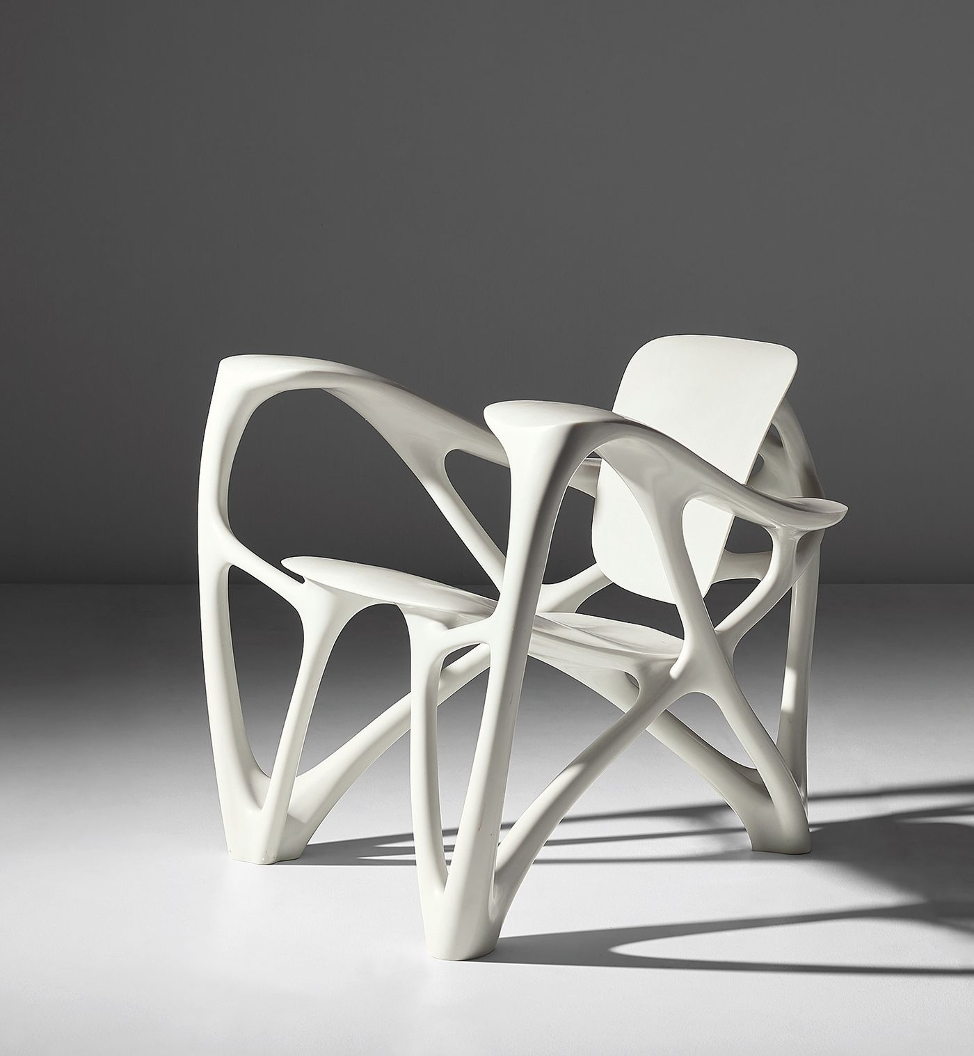 Laarman's innovative chair design explores the intersections of design, technology and science.