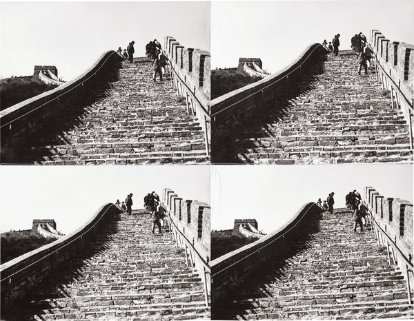 Andy Warhol The Great Wall of China, 1982 – 1987
