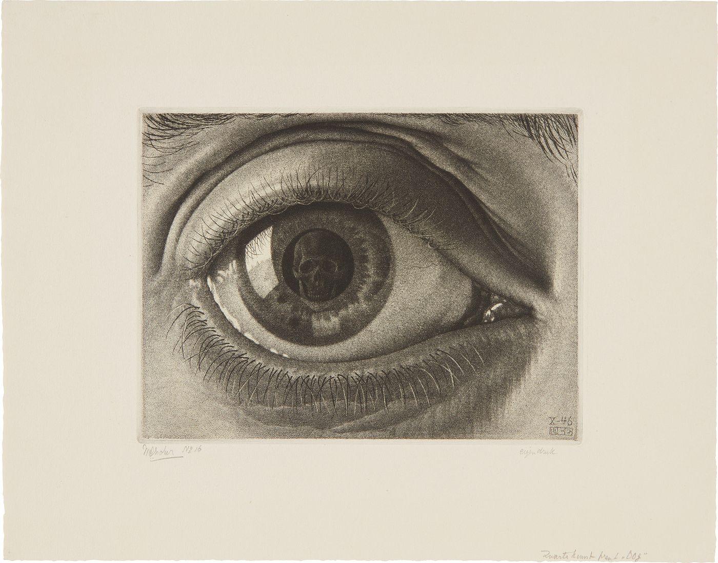 Phillips Mc Escher And The Mezzotint