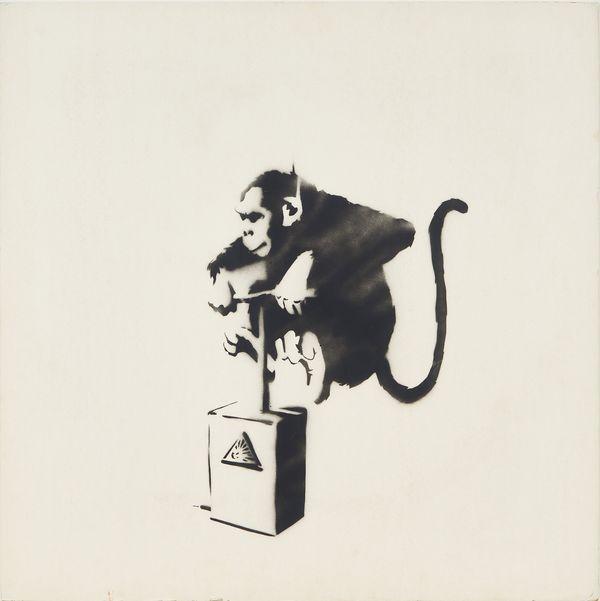 班克斯 (Banksy) 顛覆破格創作者,以街頭藝術在國際上的聲譽遠超其匿名身分,作品結合了諷刺性的幽默和塗鴉,被公認為二十一世紀最多產的藝術家之一。