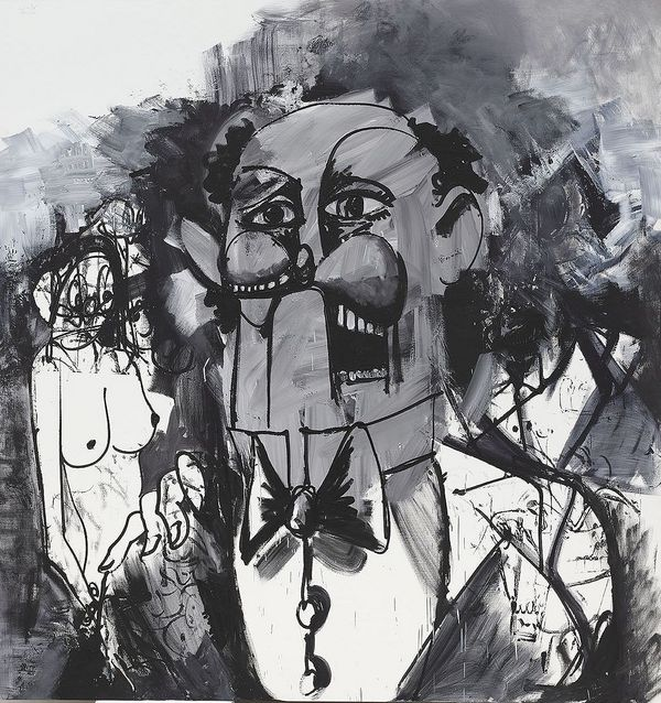 Few artists have dedicated their careers as singularly to one genre as George Condo has to portraiture. 'Sketches of Jean Louis' is an exceptional example of his cherished black-and-white portraits. Charlotte Raybaud, our head of evening sale in Hong Kong, explains the mysterious figure behind the work.