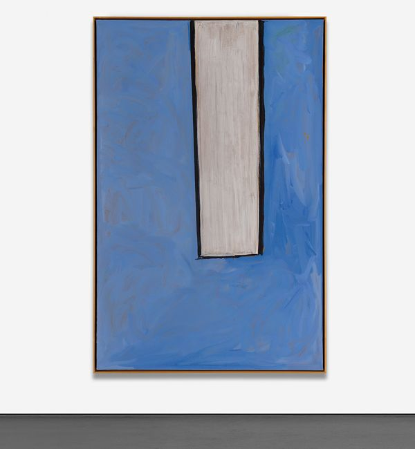 A stark departure from his 'Elegies,' Motherwell sought to impart a new spectrum of emotion into a later series of works.