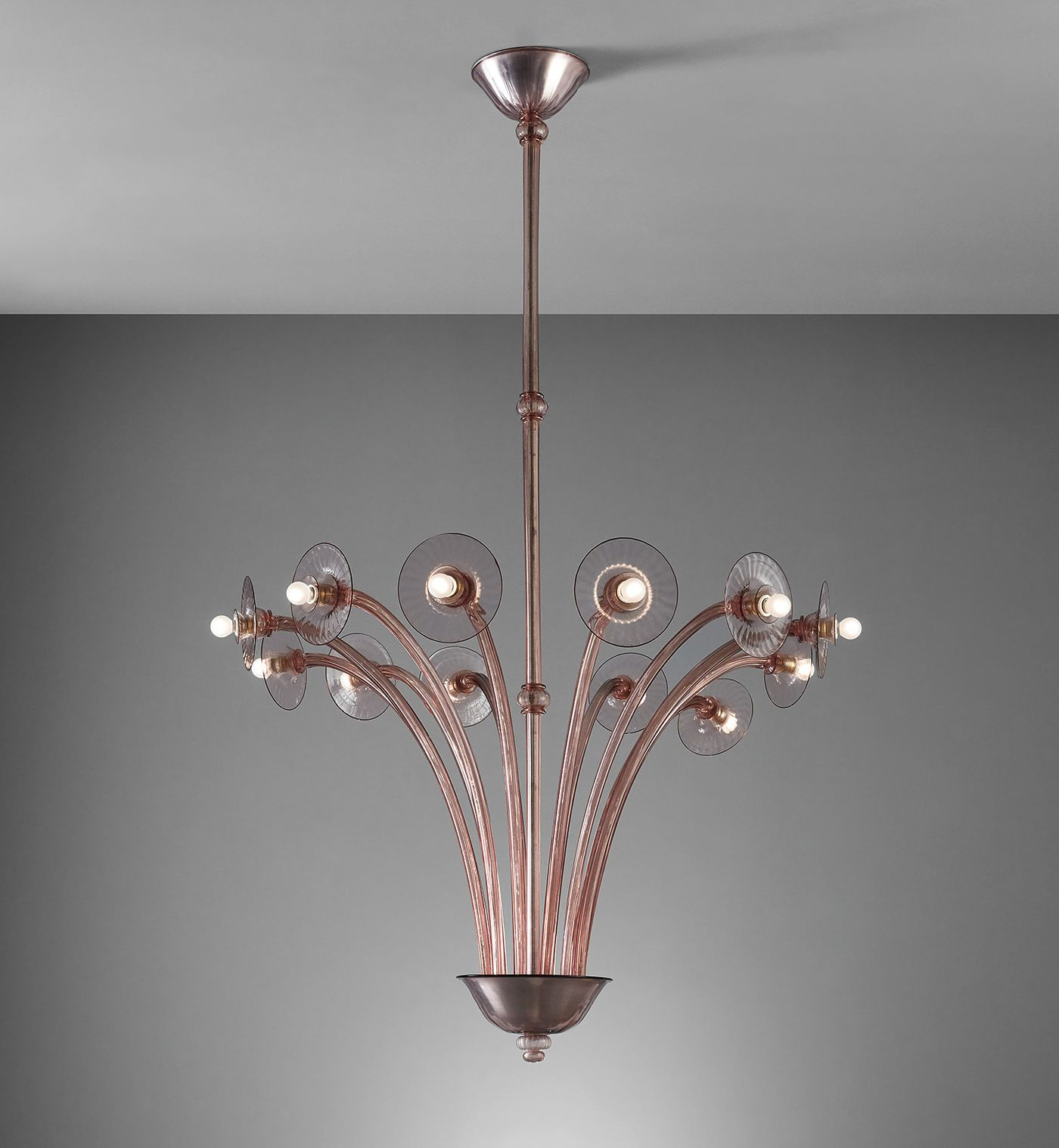 Phillips is pleased to offer a strong selection of Italian lighting this December ranging in style, date—from the late 1920s to the 1960s—and size.