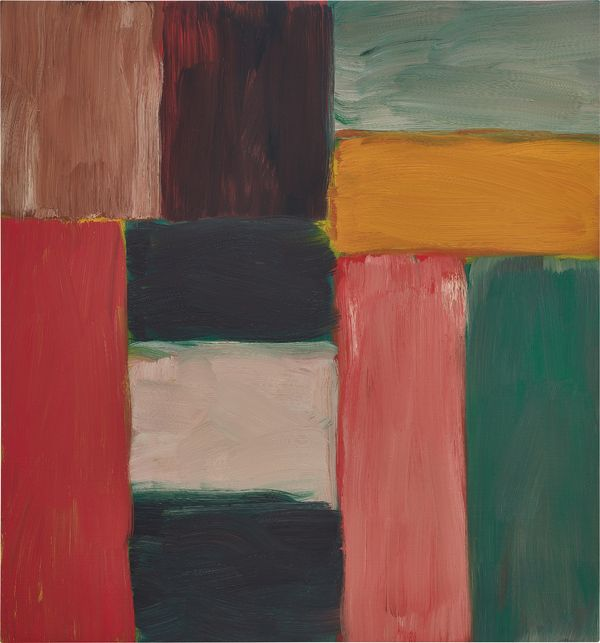 Sean Scully, Wall of Light Green, 2013