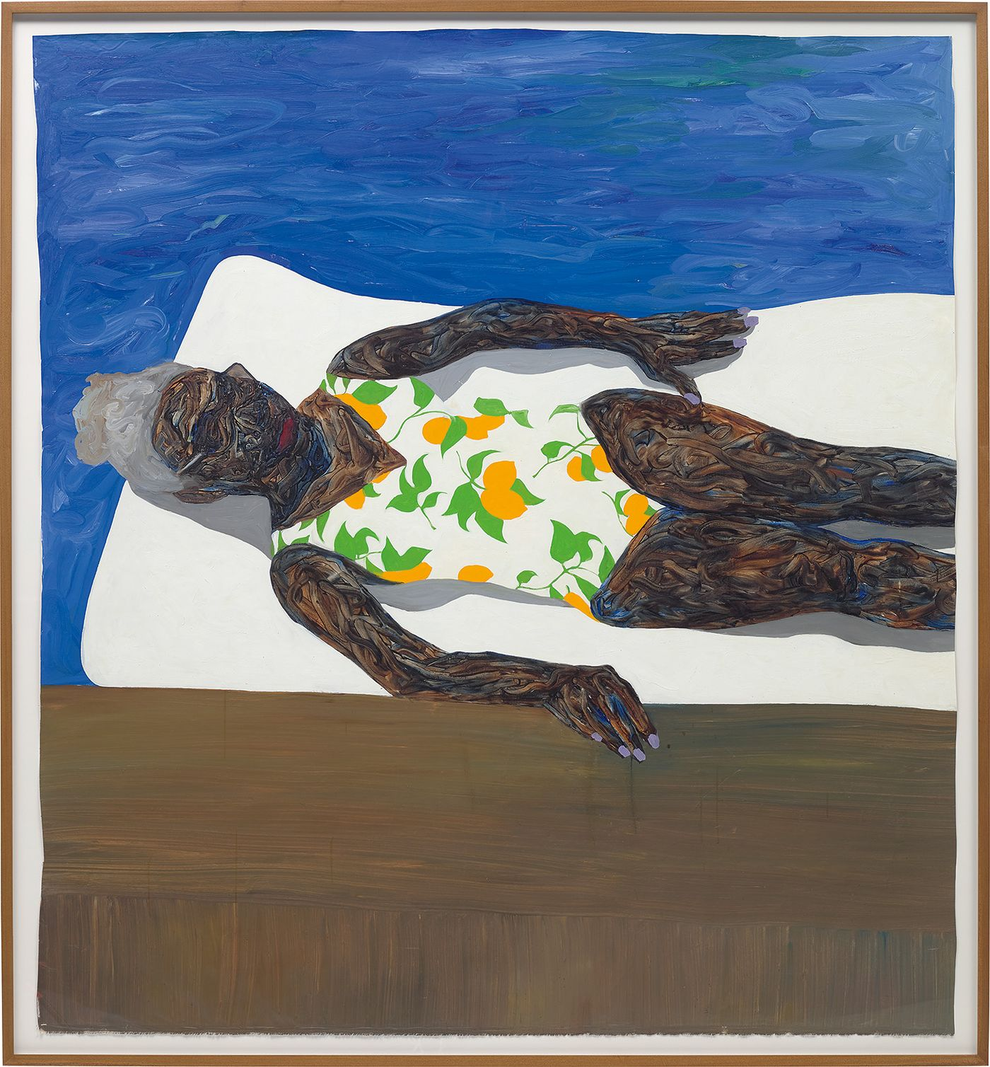 As the Accra-born, Vienna-based artist makes his Evening Sale debut, a gestural approach to figuration recalls some of art history's greatest painters.