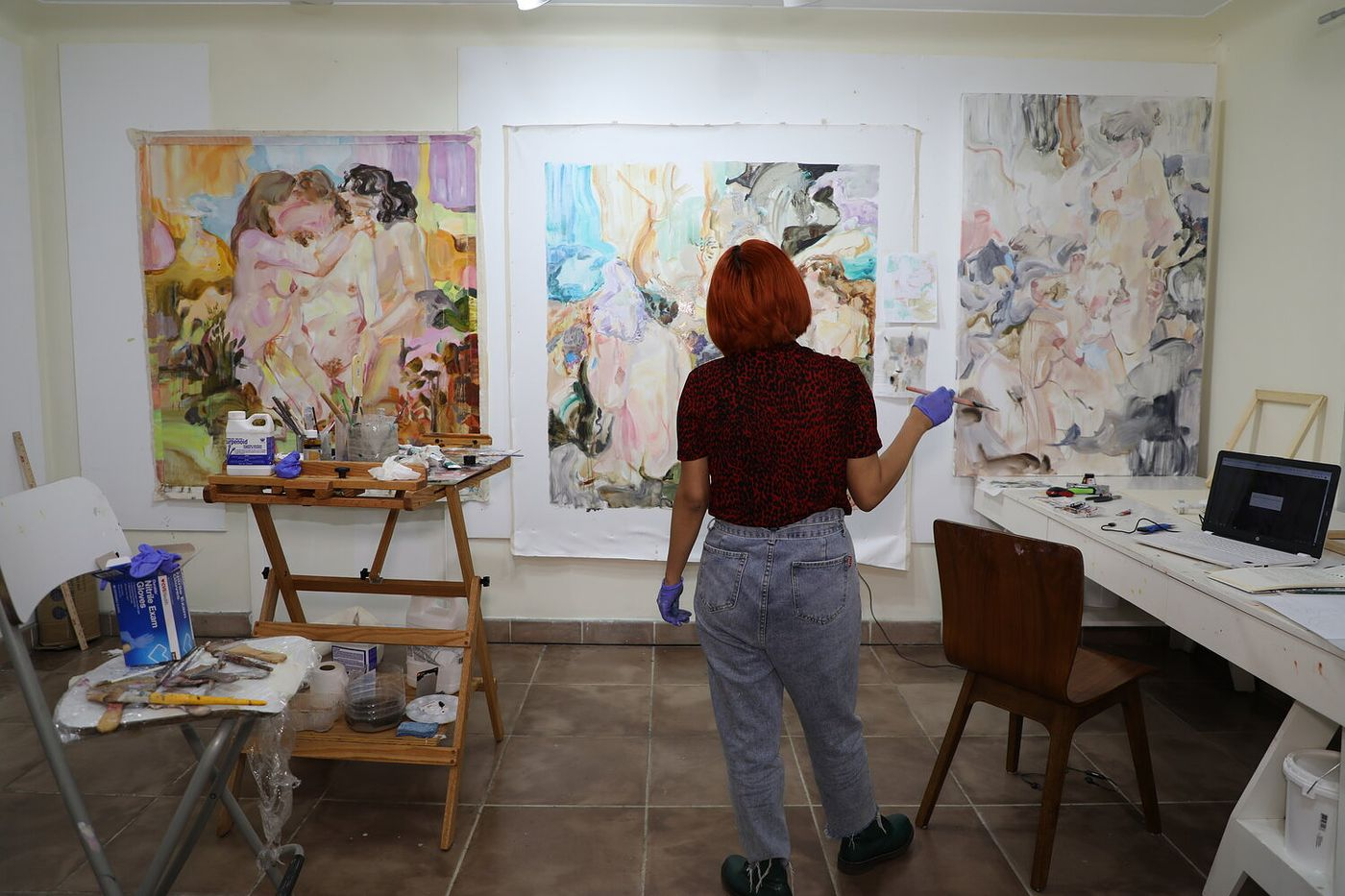 As part of our ongoing commitment to the arts and our institutional partners, we're checking in to see how they've adjusted to these challenging times. First, we caught up with artists from Miami's Fountainhead Residency and Studios.