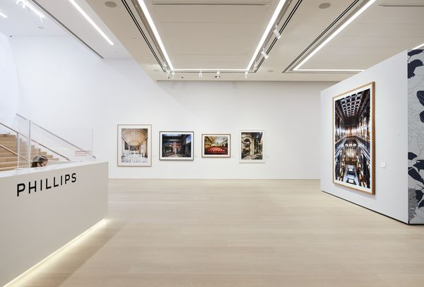 Tour our New York Photographs sale in this virtual reality walkthrough from 432 Park Avenue. On view: László Moholy-Nagy, Ansel Adams, Peter Beard, Robert Frank, and Hank Willis Thomas, alongside Reframing Beauty: A Private Seattle Collection
