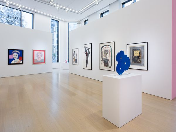 Tour our London Evening & Day Editions sale in this virtual reality walkthrough from 30 Berkeley Square. On view: Andy Warhol, Pablo Picasso, David Hockney, Roy Lichtenstein, Allen Jones, and more.
