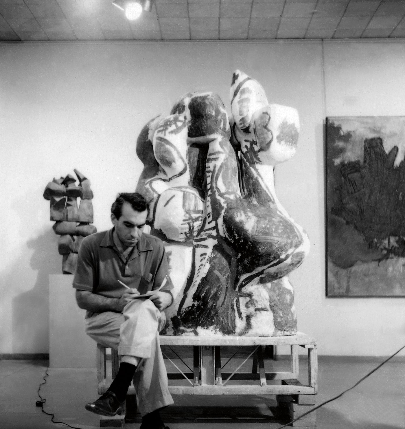Glenn Adamson investigates the miraculous creation of a monolithic totem to 1950s American craft, made at the apex of Voulkos' breakthrough years.