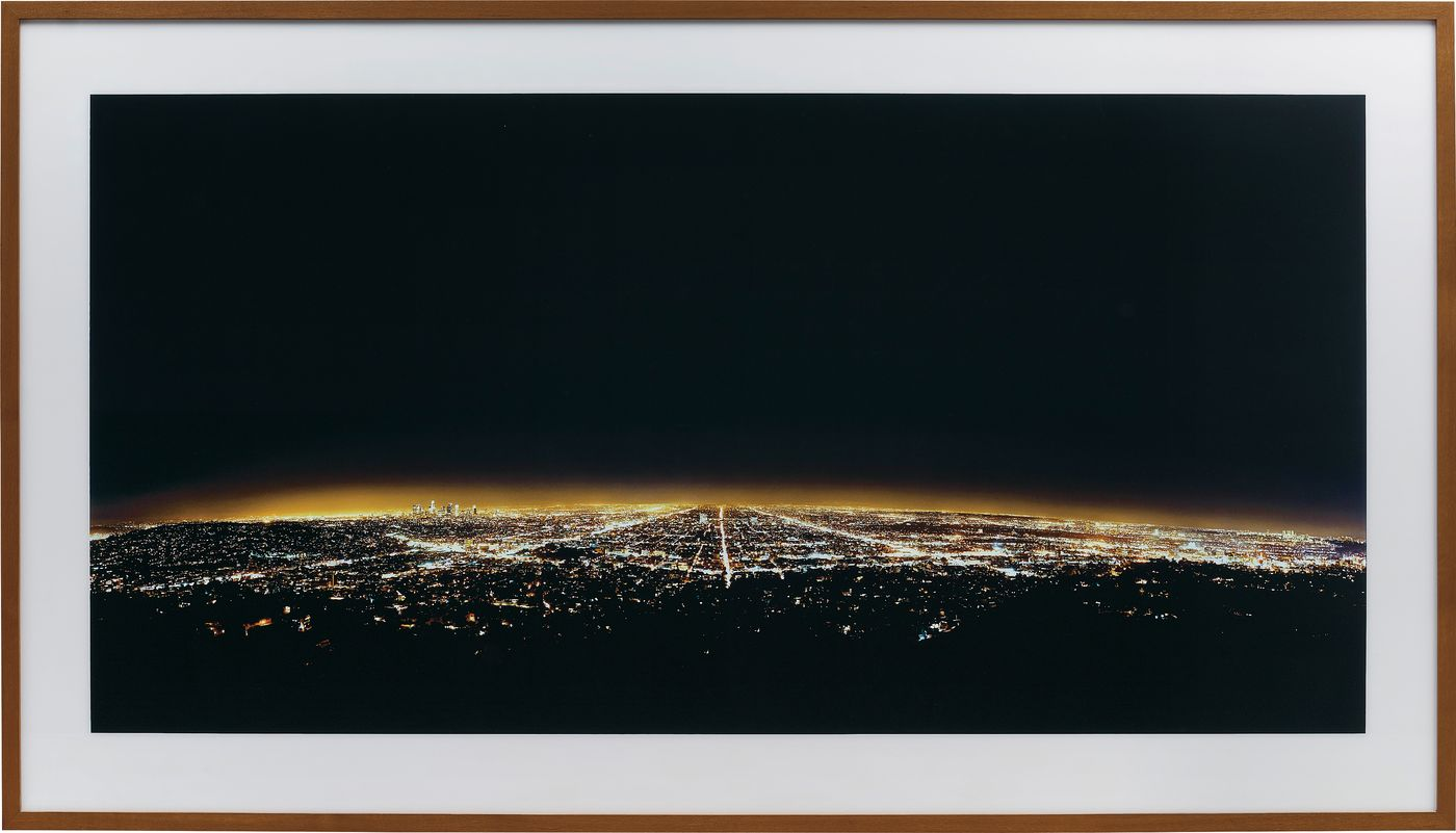 Andreas Gursky's exemplary use of the photographic medium shows Los Angeles from the mythical view of deities.