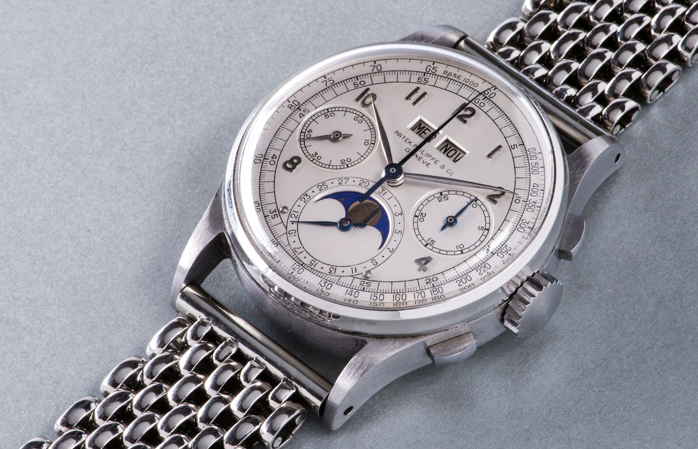 In 1941, Patek Philippe introduced one of the world's most revolutionary and legendary collector's wristwatches, setting the course for their dominance in the world of high-end Swiss watchmaking.