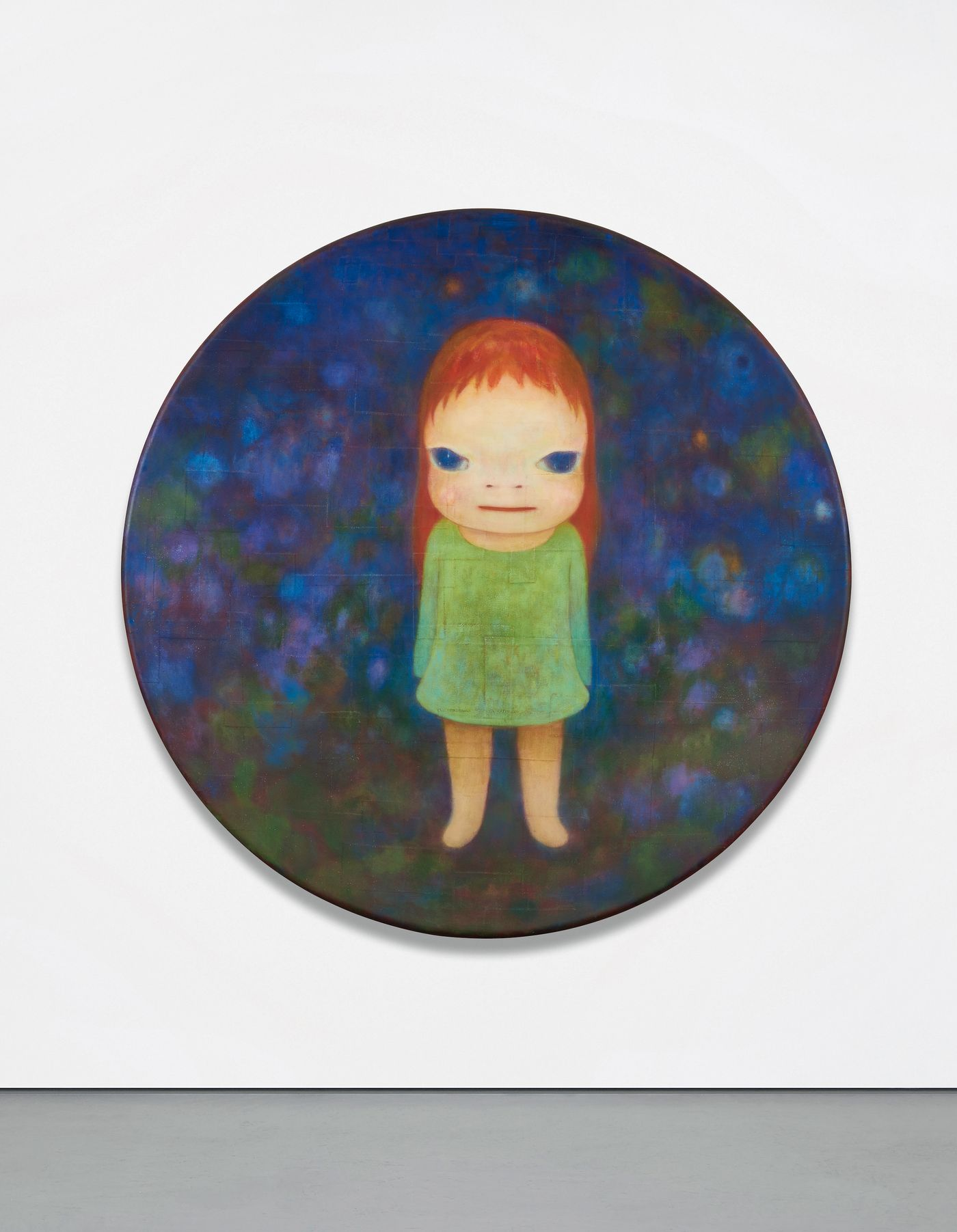 Yoshitomo Nara's 'Missing in Action' characterizes the artist's complex interpretations of childhood, nostalgia and solitude.