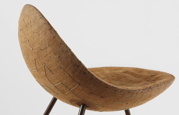 Isamu Noguchi's mid-century prototype for a Maine beachhouse — which survived a fire in 1999 — likely influenced the later Danish designs of Kjærholm and Jacobsen. —James Zemaitis