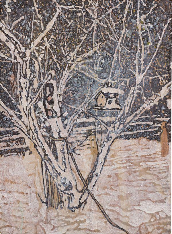 Peter Doig, Bird House, 1996