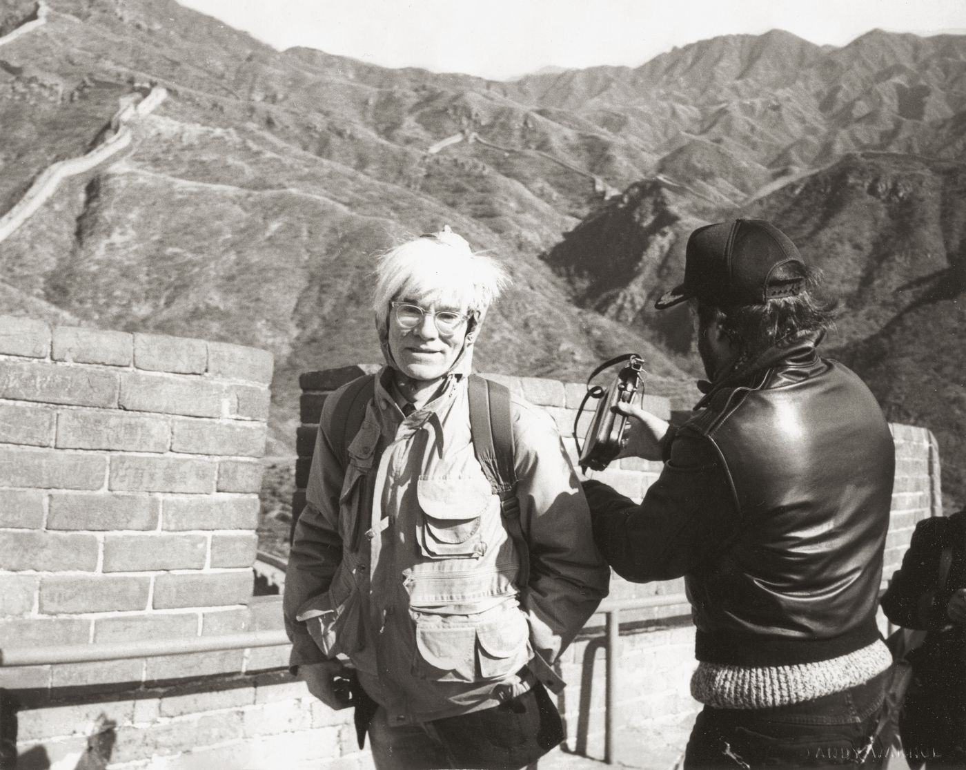 Warhol's first impression of China's greatest monument gave way to a unique collection of photographs, coming to auction this month.
