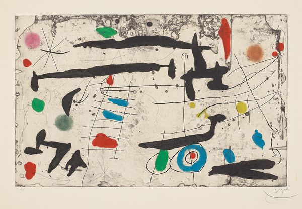 Throughout his seven-decade career, Joan Miró was committed to a variety of media to further his artistic practice and satisfy his creative curiosity.